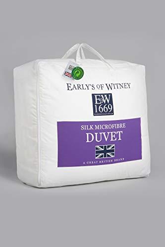 Early's of Witney Silk/Microfibre King Duvet