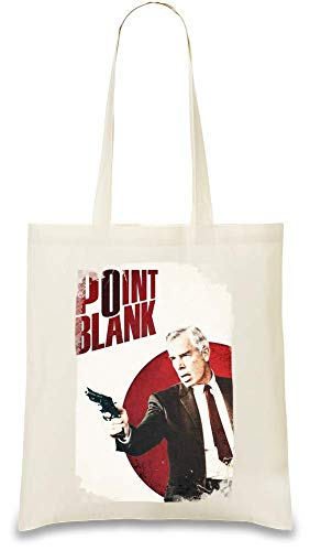 Punkt leeres Poster - Point Blank Poster Custom Printed Tote Bag| 100% Soft Cotton| Natural Color & Eco-Friendly| Unique, Re-Usable & Stylish Handbag For Every Day Use| Custom Shoulder Bags By Design