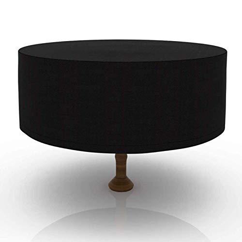 HYDL Cubierta de Muebles, Funda para Muebles de Jardín, Copertura Impermeable para Mesas, Cubierta de Exterior Funda Protectora Muebles Mesas Sillas Sofás Exterior 210D Oxford - Negro