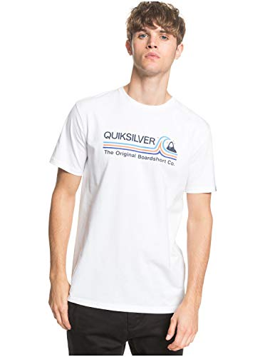 Quiksilver™ Stone Cold Classic - T-Shirt - Homme - XL - Blanc