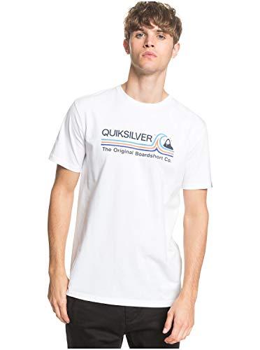 Quiksilver™ Stone Cold Classic - T-Shirt - Homme - XL - Blanc