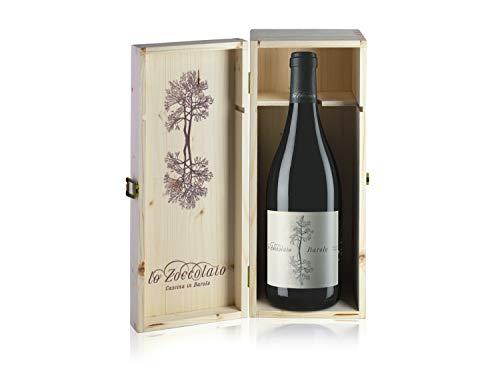 Lo Zoccolaio Barolo DOCG - Vino Rosso -1500 ml + Cassa Legno Magnum - 1500 ml