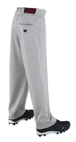 Wilson - Pantalon de Baseball/Sofball Wilson P200 coupe large gris pour Junior taille - S