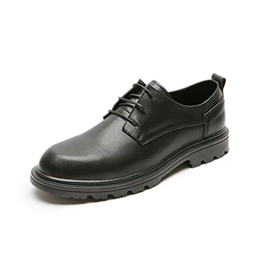 Zapatos Casuales para Hombres, Zapatos de Punta de Cuero de Tela de...