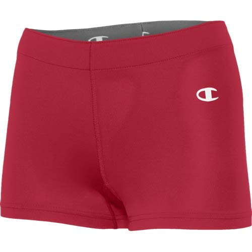 Champion Women's Raceday Compression Short, Red, Large
