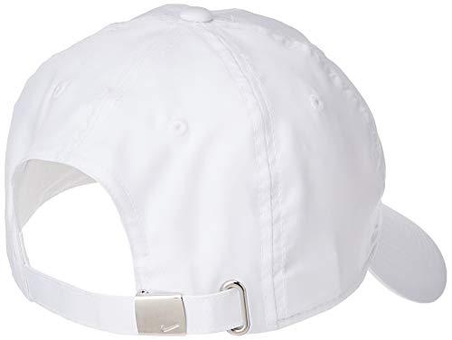 Nike U Nk H86 Cap Metal Swoosh Hat, Unisex Adulto, White/(Metallic Silver), MISC