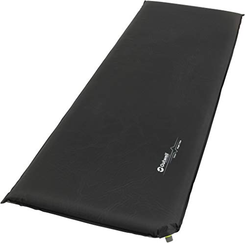 Outwell Sleepin Self-inflating Mat, Black, Single 3 cm Thick