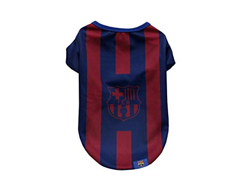 FC Barcelona SH-01L-BC Camiseta para Perro, Talla L