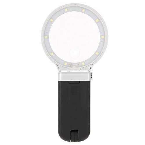 Lámpara LED de lupa suave duradera plegable, lámpara de lupa portátil, para...
