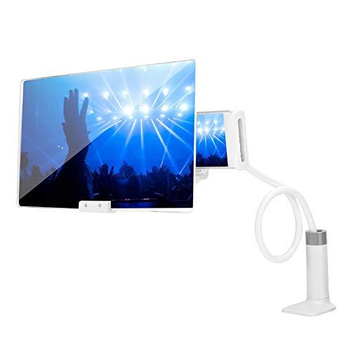 Screen Magnifier, 12IN 3D Smartphone Amplificador de Pantalla Soporte de teléfono Ajustable...