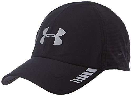 Under Armour Men's Launch ArmourVent Cap, Black (001)/Silver, One Size