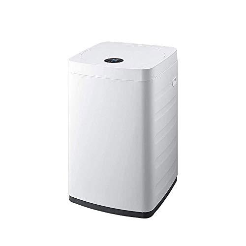 QIN Full-lavadora automática portátil compacto de la vuelta de lavandería Lavadora con la bomba de drenaje, 8 Programas, 24h inteligente retardo, 6.6 libras de capacidad for...