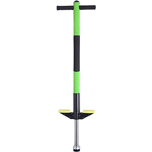 LIfav Pogo-Stick, Presslufthammer Jump-Stick Für Kinder Kinder Erwachsene Gleichgewichtstraining Im Freien Spielzeug, Bis 50Kg, Für Kinder Geburtstags-Geschenk,Grün
