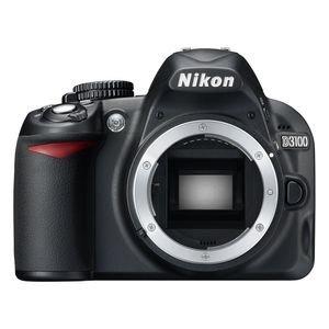 Nikon D3100 SLR-Digitalkamera (14 Megapixel, Live View, Full-HD-Videofunktion) Gehäuse (Generalüberholt)
