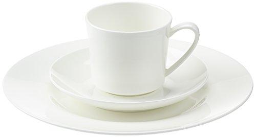 Rosenthal 61040-800001-18735 Jade weiß 18-teiliges Fine Bone China Kaffeeset