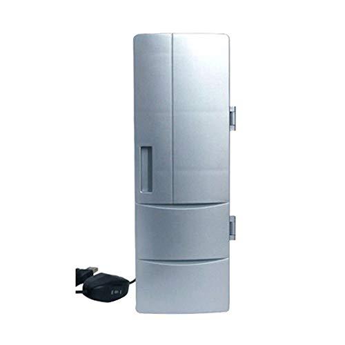 Preisvergleich Produktbild XTBB Mini Auto Kompressor Kühlschrank Tragbarer Kühlschrank Heiß & Kalt Dual USB Autokühlschrank Büro Home Kleinhalter Kühlschrank Auto Versorgung
