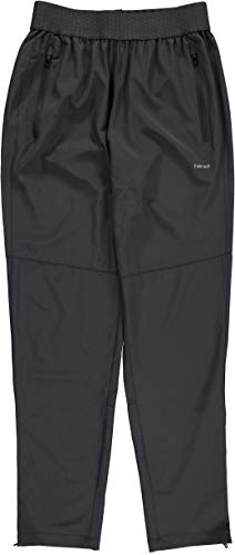 Hind Stretch Woven Sweatpants for Men, Black/Charcoal (Large, Charcoal)