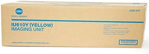 Konica Minolta Genuine Brand Name, OEM A06007F (IU-610Y IU610Y) Yellow Image Unit (100K YLD) for Bizhub C451, Bizhub C550, Bizhub C650, Bizhub C650P Printers