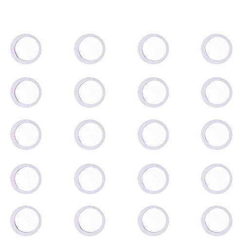 WANDIC 20er Pack Membranflöten membran für Kazoos