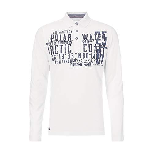 Camp David Polo Shirt Especially for Men 2016 HW Ivory Polo 1/1 (S)