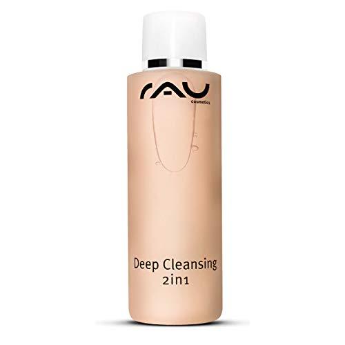 RAU Deep Cleansing 2in1 200 ml - Tiefenreinigung und Gesichtswasser - Unreinheiten, Pickel und Mitesser Entferner