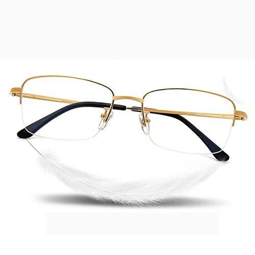 MKKSLR Smart Zoom Lesebrille, hochauflösende, verfärbungsbestimmende Blu-ray-Brille für Herren Stilvoller ultraleichter Leser zum Lesen von Zeitungen/Fernsehen/Seniorengeschenken