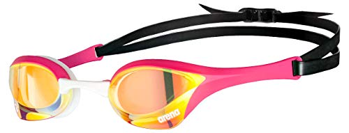 ARENA Unisex – Adulto Cobra Ultra Swipe Mr (Yell-Pink) Swim Goggles, Multicolore, 1