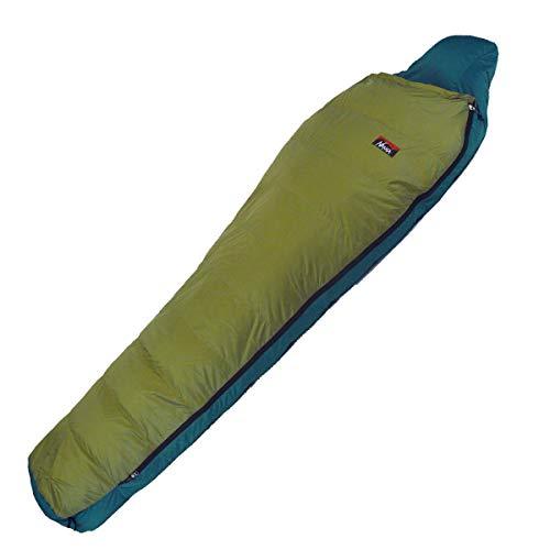 NANGA(ナンガ) 寝袋 アウトレット訳ありダウンシュラフ450レギュラー 下限温度-8度 オリーブ 左ジッパー