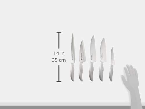 下村工業日本製ヴェルダン三徳165mm/牛刀180mm/ペティ125mm/出刃150mm/柳刃210mm包丁5本セットモリブデンバナジウム鋼食洗機対応OVD-150新潟燕三条製