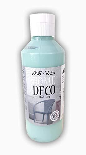 Home Deko Hobby Farbe 250ml grün, jade-grün Vintage Deco Farbe 250 ml für Holz und Möbel - pastell Farben im shabby chic Stil