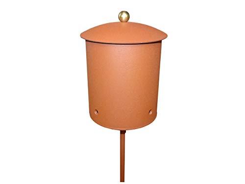 Metallfackel + 2 x 1 Liter Flammentopf