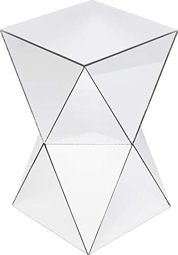 Kare Design Mesa Auxiliar, Plata, 53.5x32x32cm