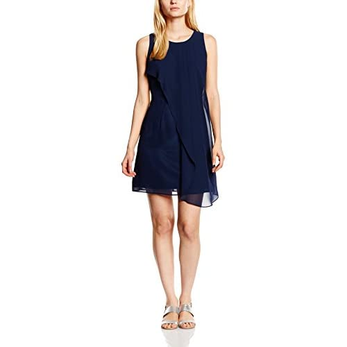Swing Vestito Donna, Blu (Ink 300), 36