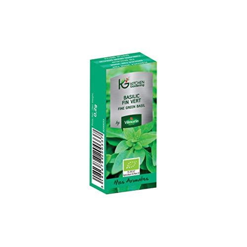 Vilmorin - Kitchen Gardening - Basilic fin vert BIO