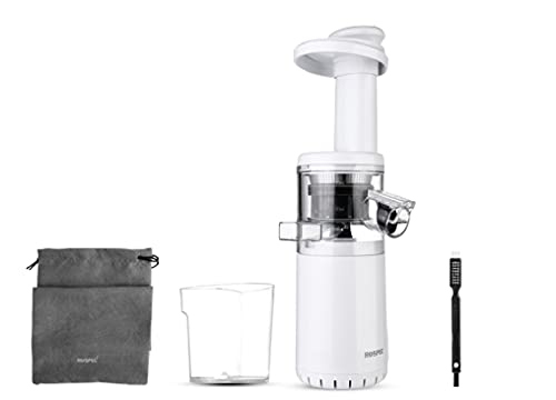Free Masticating Slow Auger Juicer Wireless Mini Slow Juicer Fruit and Vegetable Cold Press Juice Extractor Potable360mm*100mm