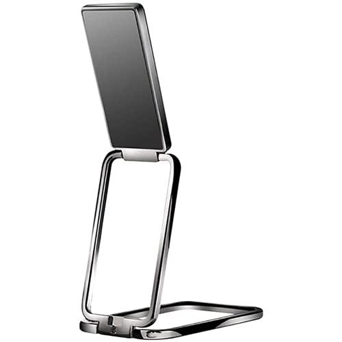 Ulyjcq Coche de teléfono móvil Soporte de teléfono Magic Magic Magnetic Car Soporte de teléfono móvil, Soporte de teléfono móvil de Metal, Soporte de teléfono móvil Plegable de Escritorio