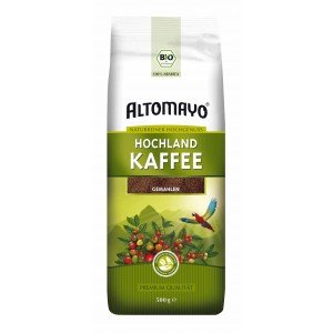 Bio Hochland Kaffee, gemahlen - ALTOMAYO