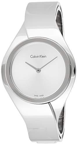 Calvin Klein Reloj Analogico para Mujer de Cuarzo con Correa en Acero Inoxidable K5N2M126