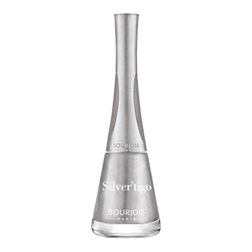 Bourjois Smalto Per Unghie Tono 20, Silver 'Tigo' - 3 confezioni da 9 Ml