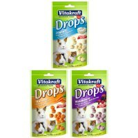 Vitakraft Sugar Free Drops 75g (Flavour: Carrot)