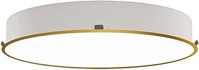 Plafonnier LED encastrable ISIA 3453/60, Ø 63 cm, 55 W 3000 K 5250 lm, doré, Triac à intensité variable