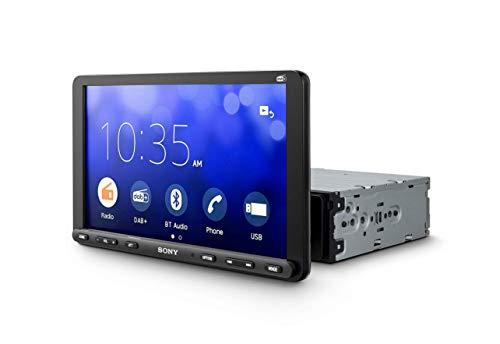 Sony XAV-AX8050ANT,1 DIN con Pantalla táctil de 9 Pulgadas, CarPlay, Android Auto, Weblink 2.0, Dab+, Incluye Antena, Bluetooth