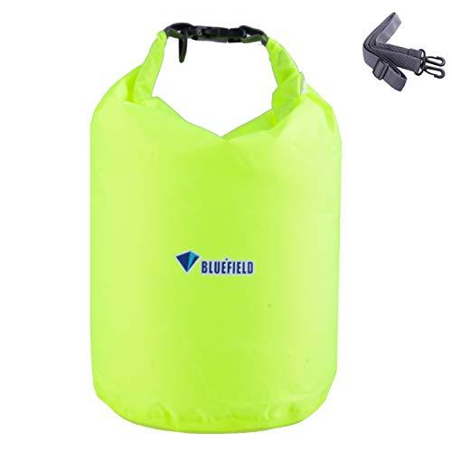 TRIWONDER Bolsa Estanca Impermeable 10/20/40L Bolsa Seca para Camping Playa Navegación al Aire Libre (Verde, 10L)