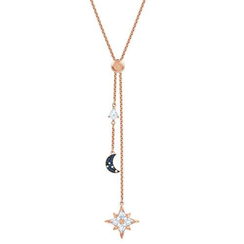 Swarovski Damen-Kette in Y-Form Vergoldet 5494357