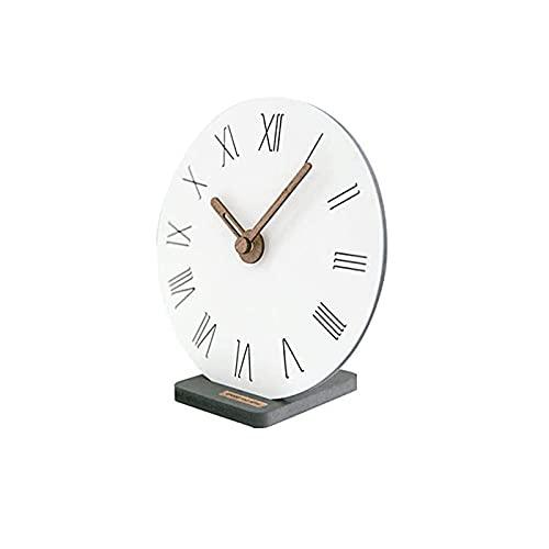 XBYUNDING Reloj de Manta con Reloj Multifuncional Multifuncional Reloj Reloj Recepción Mute Desktop Battery Powered,Decor Regal,Reloj especializado Adecuado como Regalos for Amigos