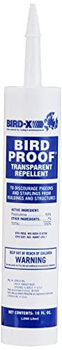 Bird-X 54-1 Proof Bird Repellent Gel-10 oz, 1-(Pack)