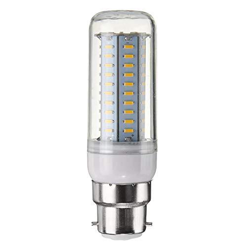 WULE-RYP Dimmerabile B22 6W SMD4014 LED Lampadario di Mais Lampadario Leggero AC220 (Color : Pure White B22)