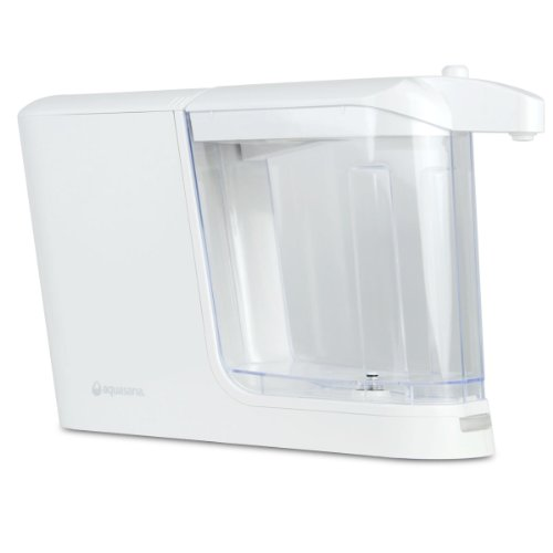 Aquasana Clean Water Machine, Powered Water Filter Dispenser, Filters 320 gallons, White
