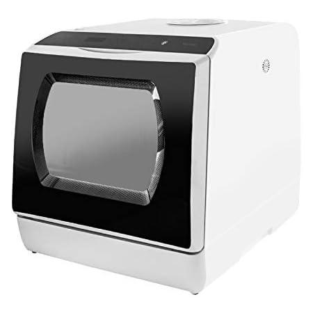 食器洗い乾燥機 食器洗い機 食洗機 工事不要 タンク式 節水 5種の洗浄コース 高温洗浄 コンパクト 3人用 ダブルノズル噴射式洗浄 お手入れ簡単 ブラック