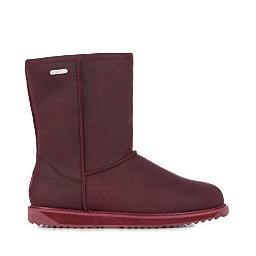 EMU Australia Paterson Leather Lo Womens Waterproof Sheepskin Boots